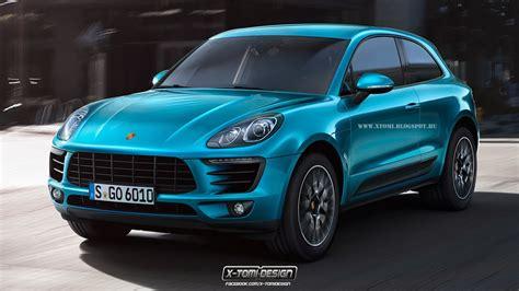 2014 Porsche Macan Imagined With Two Doors
