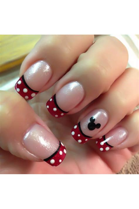 how to decorate nails how to decorate your nails with mickey mouse nail
