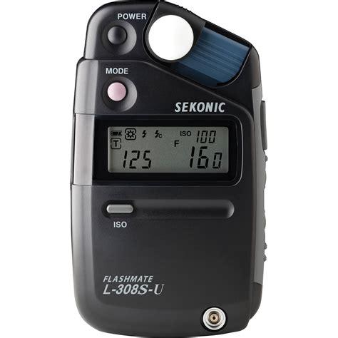 sekonic light meter sekonic l 308s u flashmate light meter 401 307 b h photo