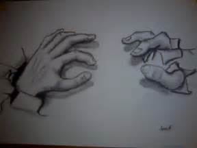 How to Draw 3D Hand Drawing