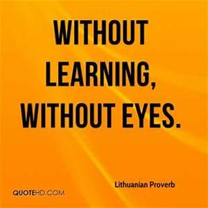 Learning Quotes... Lithuanian Love Quotes