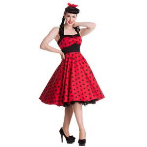 robe mariã e rockabilly hell bunny adelaide polka dot retro rockabilly vintage 50s prom sun dress ebay