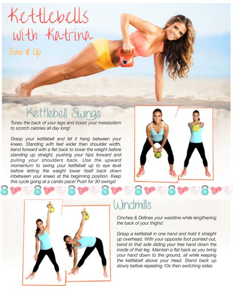 inner thigh workouts thighs exercises kettlebell workout tone printable kettlebells fitness waistline kettle legs bell challenge routines toneitup gym body