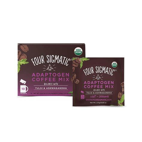 Perfect for our vegan, paleo, keto, dairy free or. Four Sigmatic Adaptogen Coffee - USDA Organic Coffee with Tulsi & Astragalus - Organic, Vegan ...