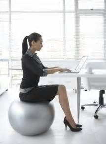 should you switch your desk chair for an exercise ball