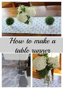 Easy Sew Table Runner