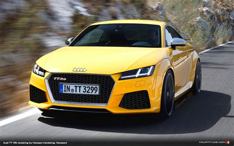 New Audi TT RS Rendering by Hansson - Fourtitude.com