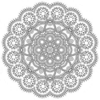 mandala meditation coloring book  sterling publishing