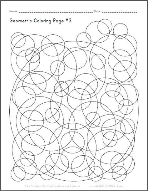 checkerboard spheres  color  printable coloring sheet