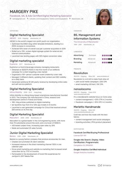 Current Cv Sles by Epub Descargar A Resume Is A Brand Ambassadors Most