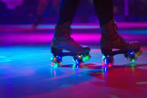roller skating rink brampton floor person skates rinks glow entertainment facility section low poem illuminated opening moon getty oklahoma eyeem