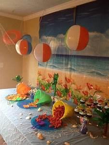 Beach party theme!   Party Themes   Pinterest