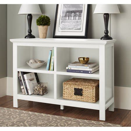 Bookcases At Walmart by 10 Burlington Collection Horizontal Bookcase