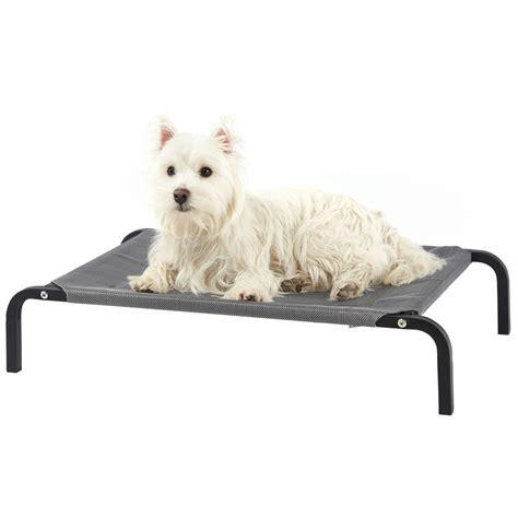 pet bed bunty elevated pet bed portable waterproof outdoor