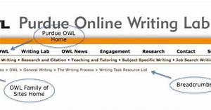 Online Writing Lab Purdue University