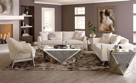 Glimmering Heights Living Room Set Aico Furniture