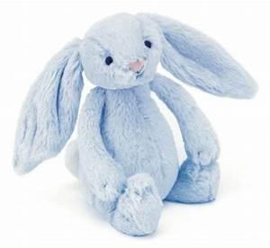 Lapin En Peluche : jellycat peluche lapin bleu bashful avec grelot 18 cm ~ Teatrodelosmanantiales.com Idées de Décoration