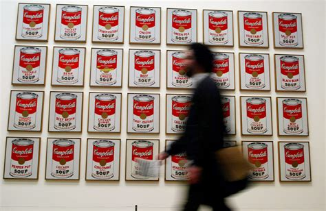 Cbell Tomato Soup Andy Warhol by 16 Things You Might Not About Andy Warhol S Cbell
