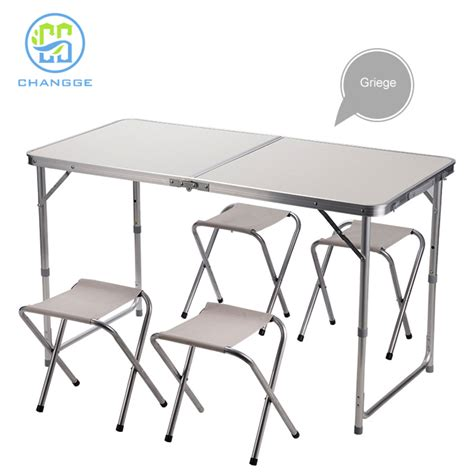 jinhua pliable table nouveau design en aluminium table
