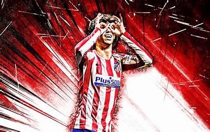 Felix Joao 4k Atletico Madrid Fc Grunge