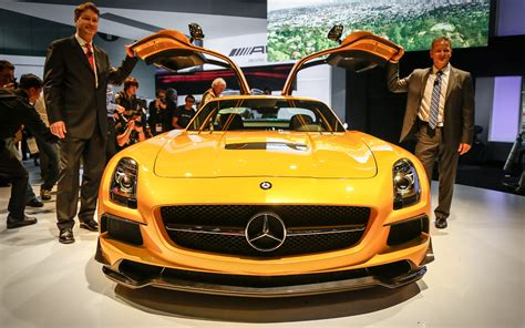 The sls amg gt is an incredibly fast and rare supercar that harkens back to the gullwings of yore. 2014 Mercedes-Benz SLS AMG Black Series First Look - MotorTrend