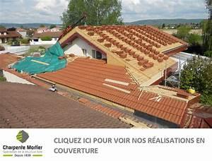 charpente mortier votre couvreur dans l39 ain With type de toiture maison 11 remplacement de couverture couvreurs professionnels