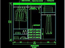 Detailed drawings cad closet, Autocad Drawing, Autocad Dwg