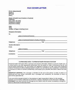 9 confidential fax cover sheet templates doc pdf free premium templates With fax cover confidentiality notice