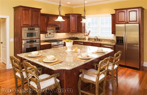 Kitchen Island Ideas Big And Even Has Your Dining Area
