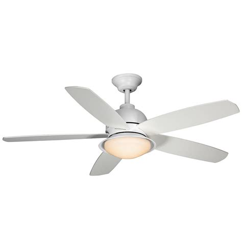 52 white ceiling fan with remote control home decorators collection ackerly 52 in led indoor