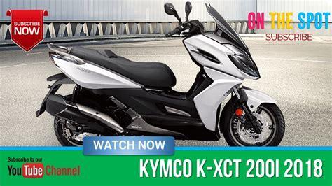 Modification Kymco K Xct 200i by Kymco K Xct 200i 2018