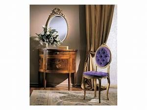 Sedia in legno imbottita, stile classico di lusso IDFdesign