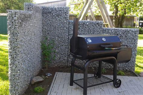 Outdoor Bilder Für Den Garten by Outdoor K 252 Che Aus Gabionen F 252 R Den Garten Gabiona