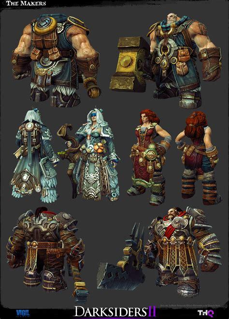 Detailed Darksiders Ii Game Models Darksiders Dungeon