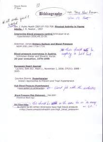 Annotated Resume Definition by Essay Bibliography Exle Pevita