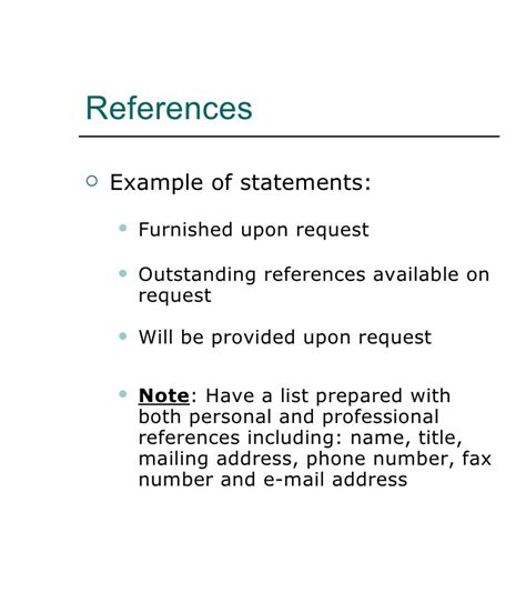 how to write references on a resumerefslegif references