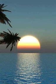 Beautiful Hawaiian Sunset Beaches