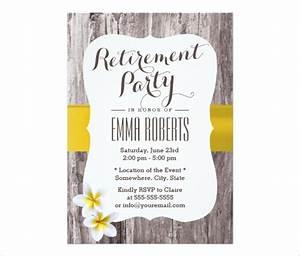 30 retirement party invitation design templates psd With retirement luncheon invitation template