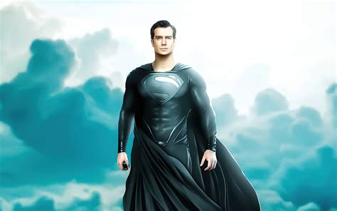 3840x2400 Black Superman Suit Henry Cavill 4k HD 4k ...