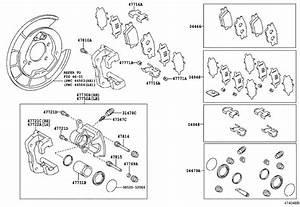 Toyota Rav4 Disc Brake Anti