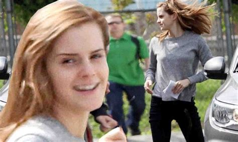 Emma Watson Returns Regression Set Days After