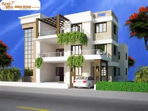 mansions designs triplex house design apnaghar house design