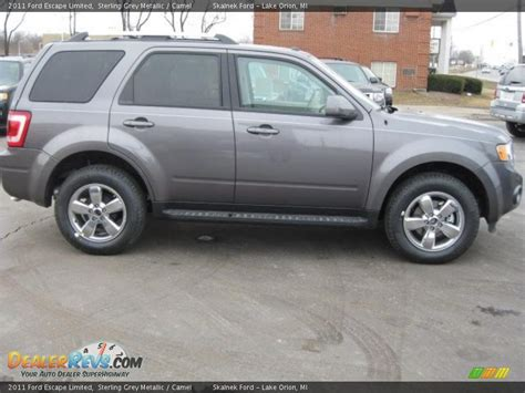 ford escape grey sterling grey metallic 2011 ford escape limited photo 2