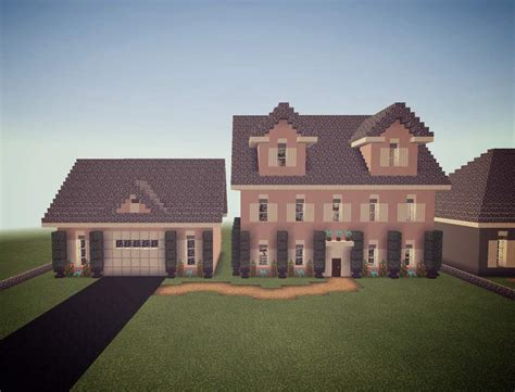 colonial house  dormers minecraft amino