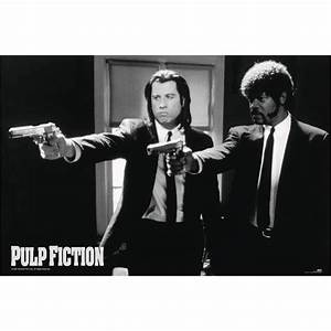 PULP FICTION POSTER Guns - Posters buy now in the shop