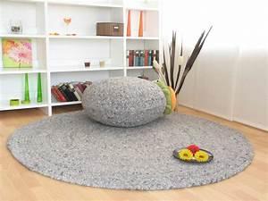Teppich Wolle Grau : handweb teppich bolero global carpet ~ Markanthonyermac.com Haus und Dekorationen