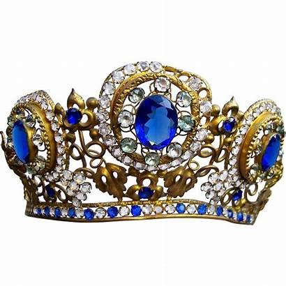 Crown Madonna Glass Spanish