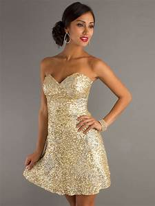short gold bridesmaid dresses strapless sweetheart gold With gold short wedding dresses