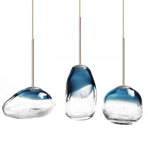 modern mini blown glass led pendant lighting 12103