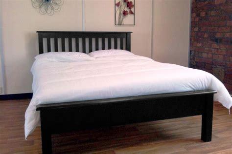 Ikea King Size Storage Headboard by Furniture Black Finish Oak Storage Bed Frame With Brown